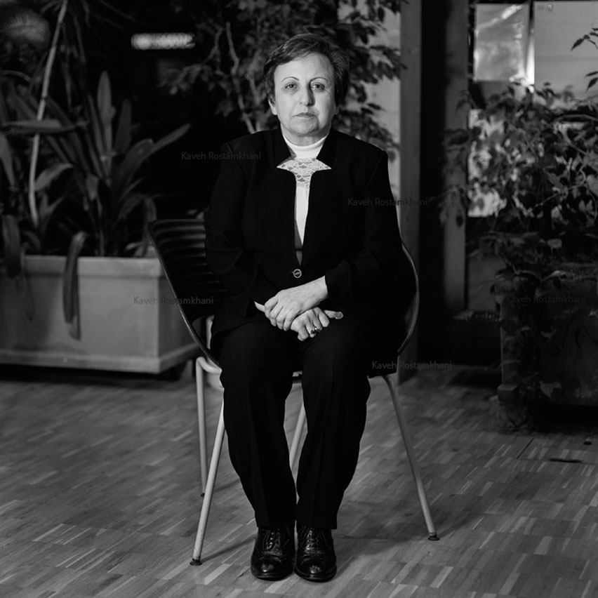 Shirin Ebadi, Iranian Lawyer and Nobel Peace Prize Laureate 2003