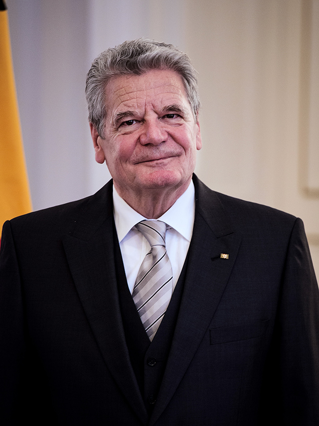 Joachim Gauck, President of Germany