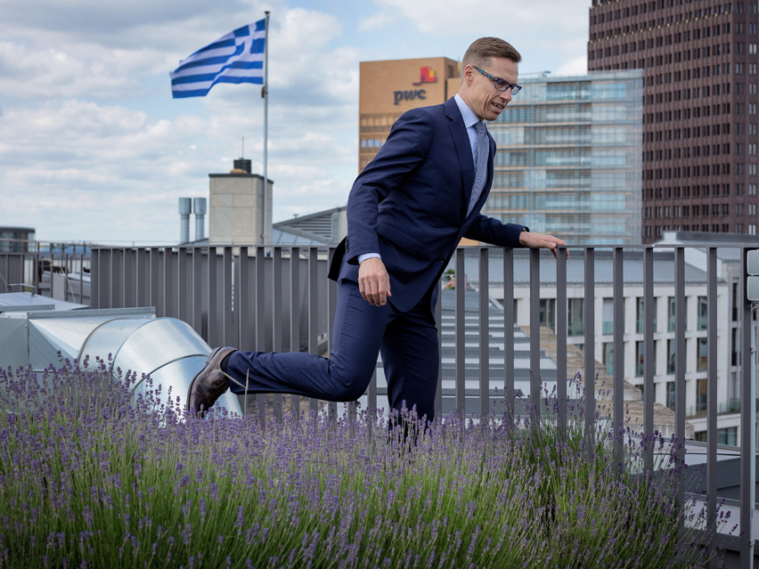 Alexander Stubb, Finnish Minister of Finance
