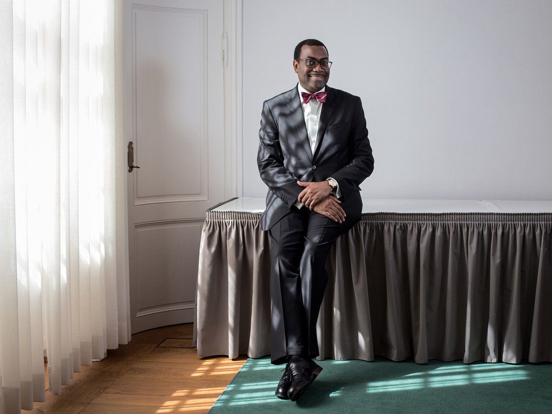 Akinwumi Adesina, Director of the African Development Bank (BAD)