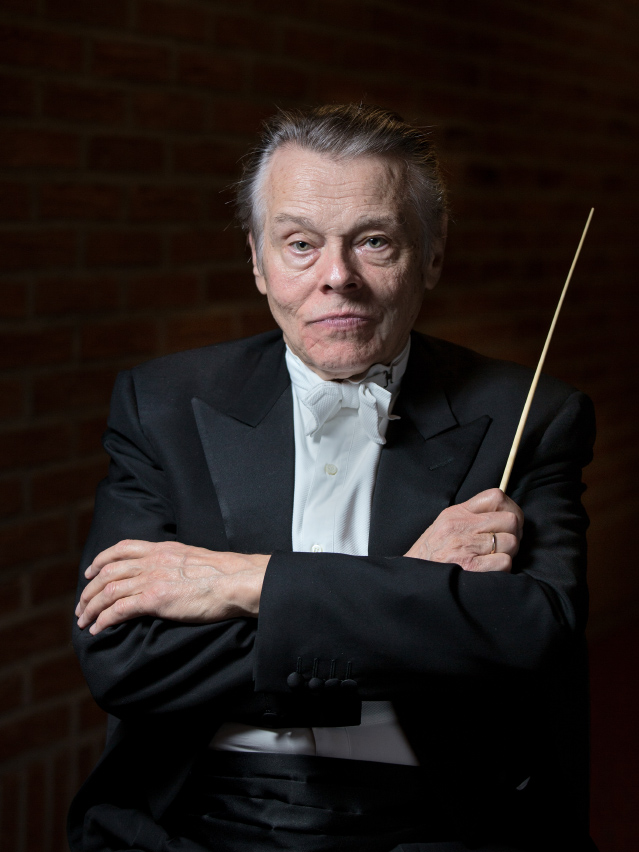 Mariss Jansons, conductor of the Bavarian Radio Symphony Orchestra