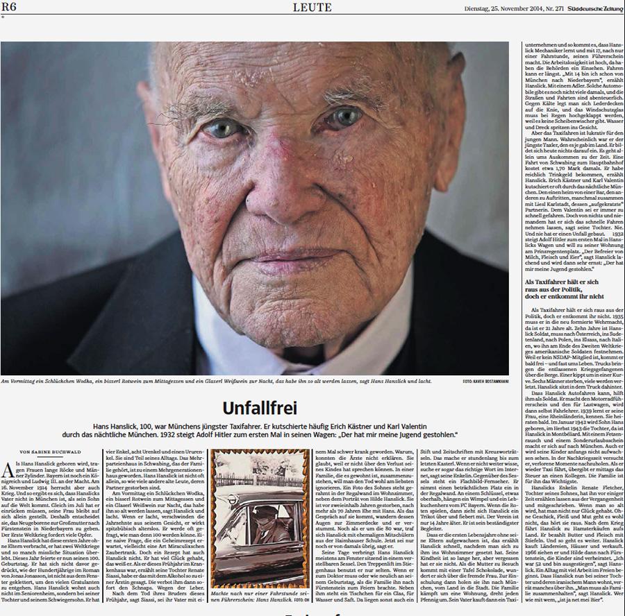 Süddeutsche Zeitung, November 25, 2014