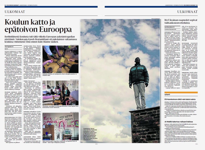 Helsingin Sanomat, July 5, 2014