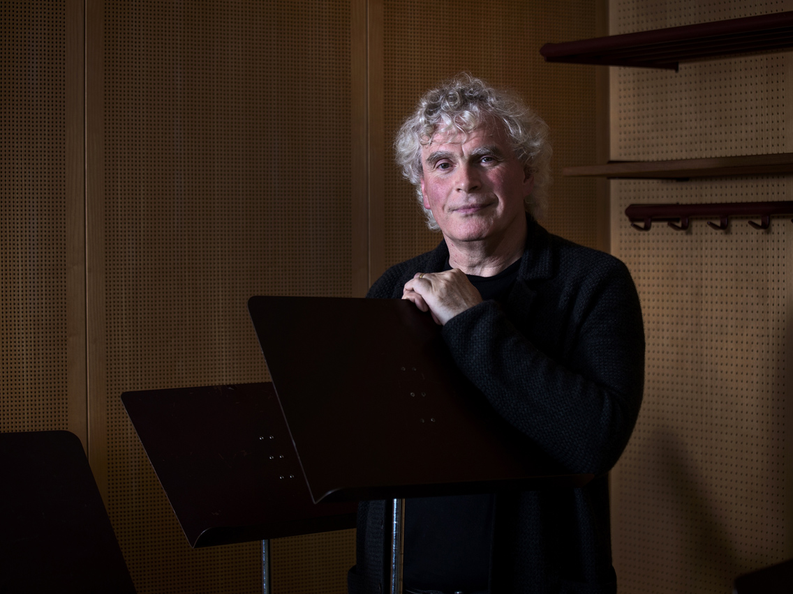 Sir Simon Rattle, Conductor