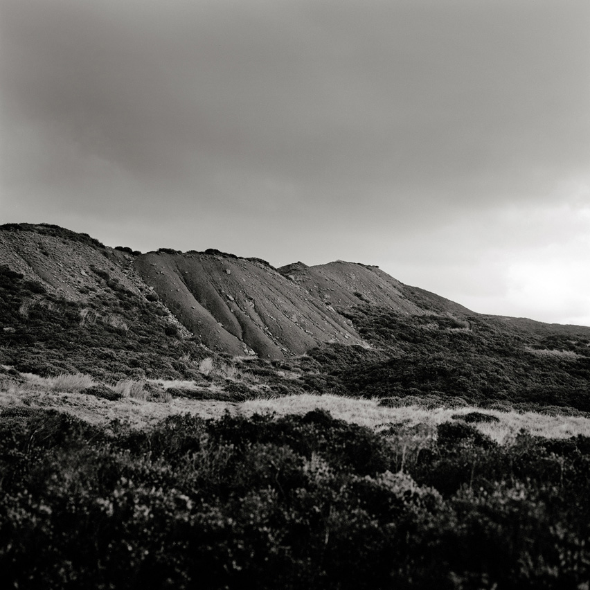 Landscape near Blaenavon, Wales, an area with a reserve around 30 years and more of coal.