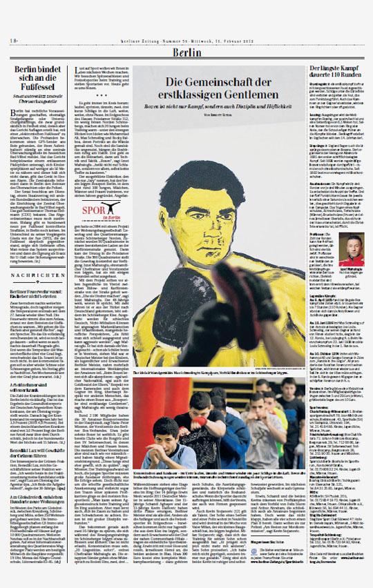 Berliner Zeitung, February 12, 2012