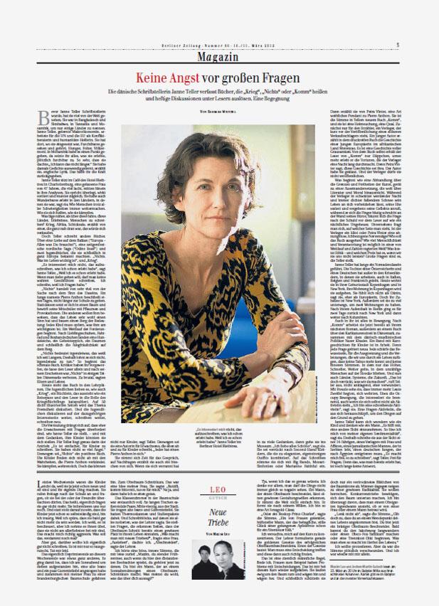 Berliner Zeitung Magazin, Seite 3 - March 10+11, 2012