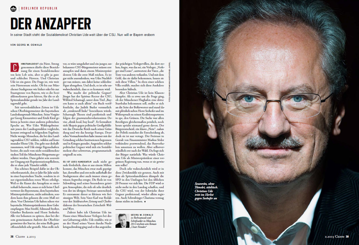 Cicero, February 2013