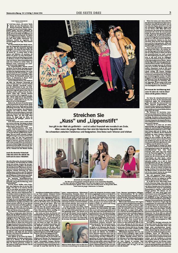 Süddeutsche Zeitung, Seite 3 - January 3, 2014