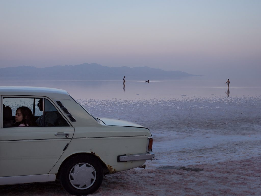 Picture of Lake Urmia, 2017